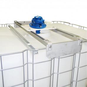 Agitateur pneumatique de cuve IBC - 1300 trs/min + Adaptateur universel + hélice 120 mm