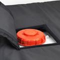 Coiffe isolante pour couverture chauffante